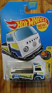 NEW FOR HOT WHEELS 2017 VOLKSWAGON BEETLE TYPE2 PICKUP HW ART CARS 1/10 #295/365