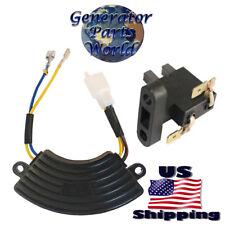 Champion Power Round AVR & Carbon Brush for 46506 122.190200.04 Volt Regulator
