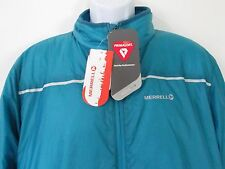 Merrell PrimaLoft Endothermic LT Jacket Men's Turquoise Aqua Insulated, size XL