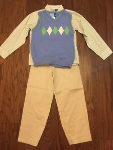 Boys Size 7 Top With Marching Vest And Pants By Goodlad