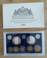 """Austria PROOF KMS SET Österreich 1990 PP Groß gebraucht """" Eiamaya"""