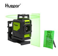 Kit de láser verde HUEPAR 901CG Rotary Cruz instrumento de nivelación automática
