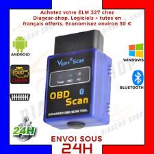 MINI ELM 327 VGATE OBD OBD2 ODB2 OBDII DIAGNOSTIQUE BLUETOOTH SCAN + LOGICIELS