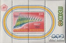 Indonesia Block 12 (volledige uitgave) postfris MNH 1968 Spelen Zomer ´68