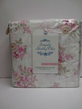 Rachel Ashwell Simply Shabby Chic BLUSH BEAUTY Rose Floral Duvet Set- Full/Queen