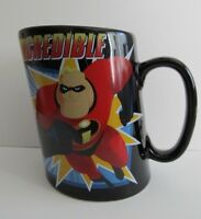 Disney Store Incredibles Black Slanted Mug
