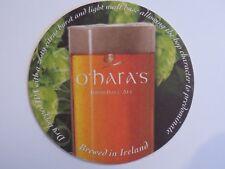 Beer Coaster: CARLOW Brewing O'HARA'S Dry Irish Pale Ale ~ Bagenalstown, IRELAND