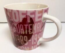 Starbucks Guatemala 2006 18 oz Coffee Mug Used