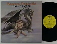 "Sonora Poncena ""Back To Work"" Latin Salsa LP Inca"