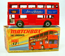 """Matchbox SF Nr.17B The Londoner rot """"Silver Jubilee"""" rare Variante top in Box"""