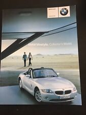 2002 BMW US Miniatures Toy Model Car Motorcycle Prestige Brochure wz5836 Race