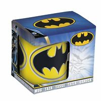 BATMAN MUG Licensed DC Comics Logo Ceramic Tea Coffee Cup In Gift Box Set 46401