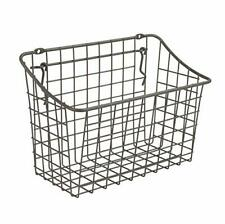 """10"""" x 5"""" x 7"""" Pegboard & Wall Mount Large Wire Basket for Slatwall,Versatile New"""
