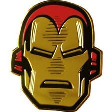 IRON MAN Head On Gold Metal New Sticker/Decal Marvel Comics super hero