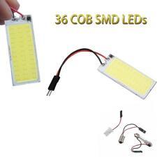 COB LED Panel Bulbs Car Interior Dome Map License Panel Lights Kit^