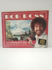 Bob Ross Volume 5 The Joy of Painting Instruction Book With Color Pictures