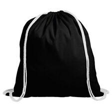 Bolsos de hombre mochila color principal negro 100% algodón