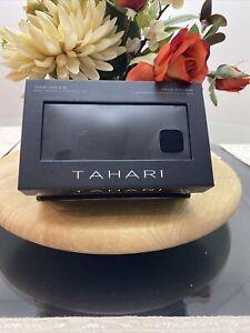 TAHARI Womens Luxury 2 Pair Cashmere Blend Boot Socks Black Shoe Size 4-10 NEW
