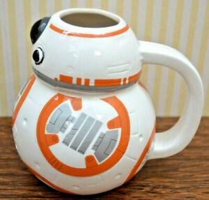 Star Wars    3D-Becher     Mug    BB-8 Motiv         NEU ohne Verpackung