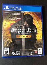 Kingdom Come Deliverance [ Royal Edition ] (PS4) NEW