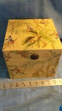 Set 2 Stacking Boxes MONKEYS, Palm trees, Gifts Storage Display