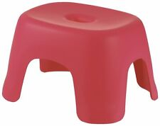 Japanese Bath Chair Onsen Tools Made in JAPAN Red