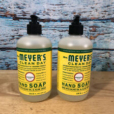 Mrs Meyers Hand Soap Lot Of 2 Honeysuckle Scent 12.5 Fl Oz. NEW!!