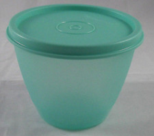 Tupperware Refrigerator Bowl & Seal Laguna Teal Green 330 ml/13-oz New