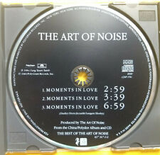 THE ART OF NOISE Moments In Love PROMO CD SINGLE Synth Pop NEW WAVE Beaten REMIX