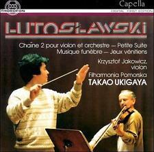 Witold Lutoslawski: Chaine 2 pour violon et orchestre; Petite Suite; Musique