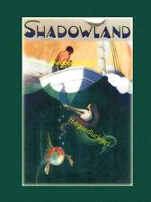 MERMAID STEERS THE COURSE Vintage Shadowland magazine cover 8x10 Siren Art print
