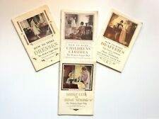 SINGER SEWING LIBRARY  4 Volume set, 1931