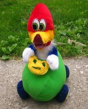 WOODY WOODPECKER plush racing doll Lantz watermelon car Universal toy NWT