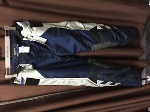 BMW  NEW Motorbike Trousers Rallye blue/grey  size EU 58, 62