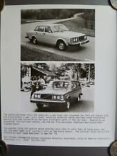 1978 Volvo 244 Sedan & Wagon VofA Press Photo, Presse Foto RARE!! Awesome L@@K
