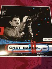 "Chet Baker Quartet ""Chet Baker Quartet"" LP BARCLAY EDITORIALE 2019 - 180 GRAMMI"