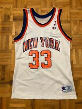 Patrick Ewing New York Knicks Champion Size 40 Jersey Rare