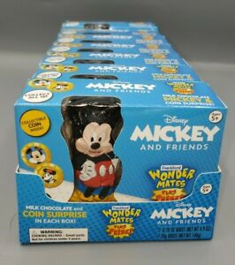Wonderball Wonder Mates Walt Disney Mickey And Friends Collectable Coin 1 Case