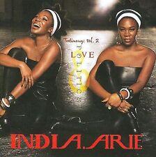 India.Arie, Testimony: Vol. 2, Love & Politics, CD 2008, BOO12572-02. Excellent.