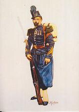 C1 Carte Postale  DESSIN JULLIAN  CHASSEUR A PIED Napoleon III 24 Second Empire