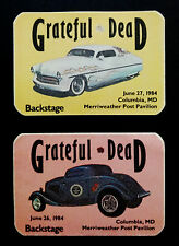 Grateful Dead Backstage Pass Merriweather Post Pavilion Maryland 6/26, 6/27/1984