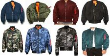 Men's Bomber Flight Jackets S-2XL