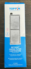 New In Box TOP FIN Retreat Filter Cartridges 2 Count, 2 Month Supply