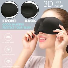 Travel 3D Eye Mask Sleep Soft Padded Blindfold Eye Mask Nap Shade Cover Relax