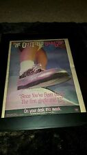 The Outfield Since You've Been Gone Rare Original Radio Promo Poster Ad Framed!
