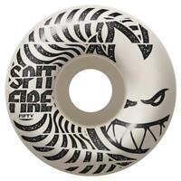 Spitfire Low Downs White Skateboard Wheels - 50mm