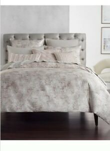 Hotel Collection Speckle KING Duvet Cover+2Stand. Shams+ Decorative Pillow.New!