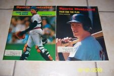 1972 Sports Illustrated Set of 2 BOSTON Red Sox CARLTON FISK 1st Cover 2nd Cover