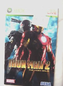 56389 Instruction Booklet - Iron Man 2 - Microsoft Xbox 360 (2010)