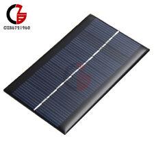 Nuevo 6V 1W módulo de panel solar Hazlo tú mismo cargadores para teléfono celular batería de luz juguetes